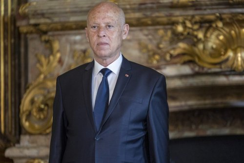 President of the Republic of Tunisia Kais Saied at the Royal Palace on June 03, 2021 in Brussels, Belgium. [Olivier Matthys/Getty Images]