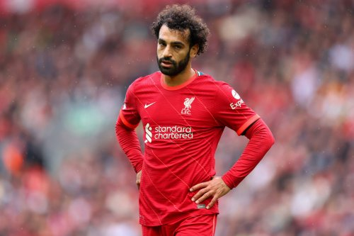 Mohamed Salah of Liverpool during the Premier League match between Liverpool and Burnley at Anfield on August 21, 2021 in Liverpool, England [Catherine Ivill/Getty Images]