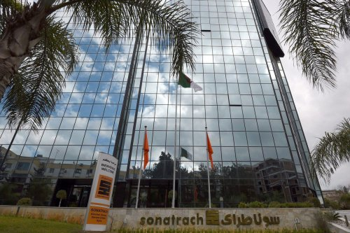 Algeria's state-owned energy giant Sonatrach in the capital Algiers on 8 February 2015 [FAROUK BATICHE/AFP/Getty Images]