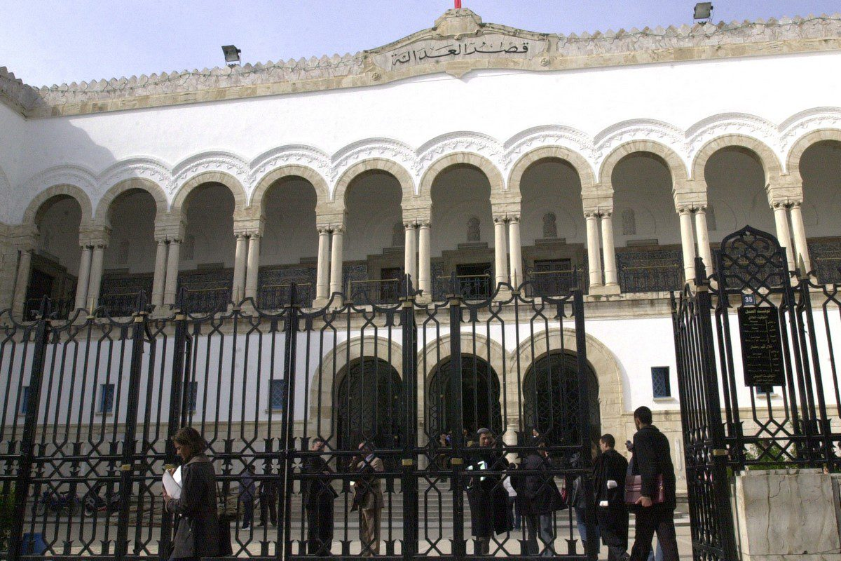A courthouse in Tunis, Tunisia 6 May 2012 [BELAID/AFP via Getty Images]