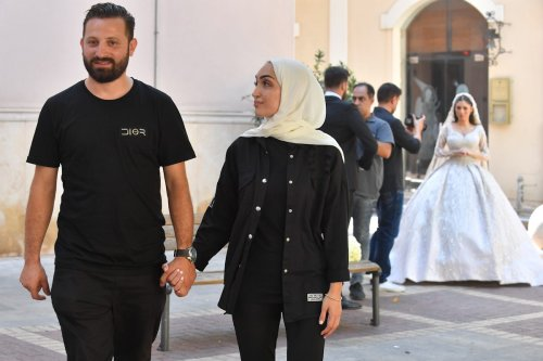 Bride of Beirut recalls the 'dark day' of her wedding