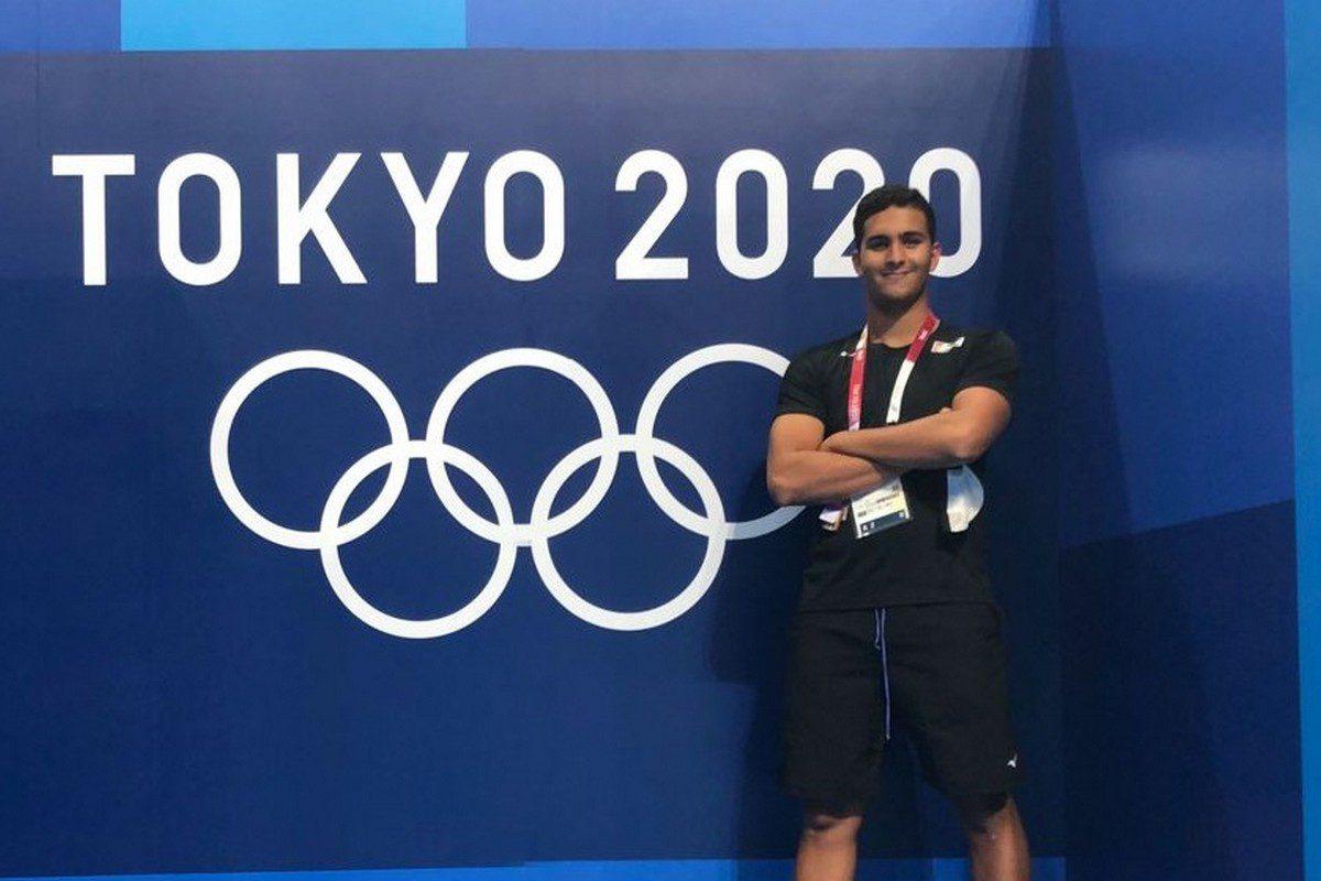 Palestinian swimmer Yazan Al-Bawwab, 1 September 2021