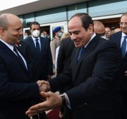 Was Bennett's visit to Egypt really 'historic'?