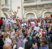 Tunisia: more calls for president's 'coup' to be stopped