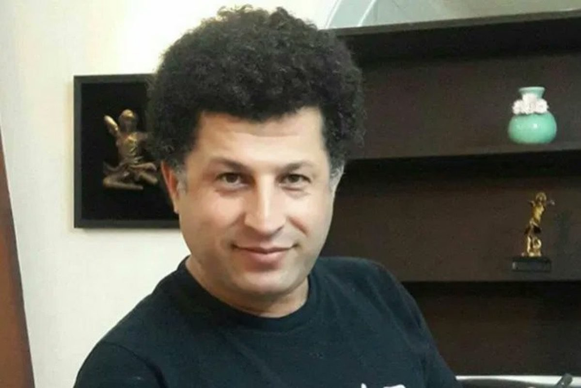 Azerbaijani Turkic human rights defender, Alireza Farshi [IranHrm/Twitter]
