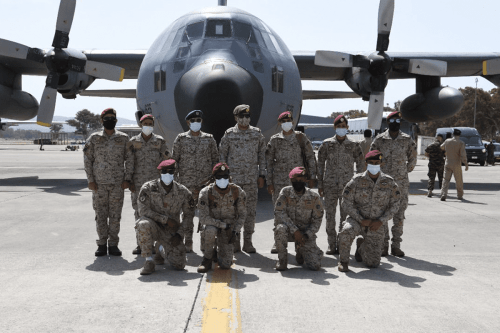 The Saudi and Emirati militaries have arrived in Greece to begin joint exercises with the Greek and Egyptian militaries [@modgovksa/Twitter]