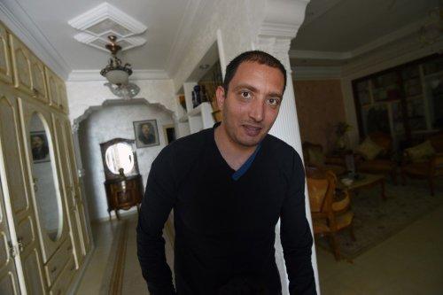 Tunisian blogger Yassine Ayari on April 17, 2015 in Tunis [FETHI BELAID/AFP/Getty Images]