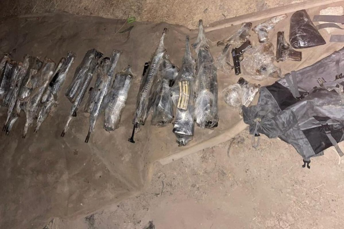 Israel thwarts 'weapons smuggling' attempt from Jordan [AvichayAdraee/Twitter]