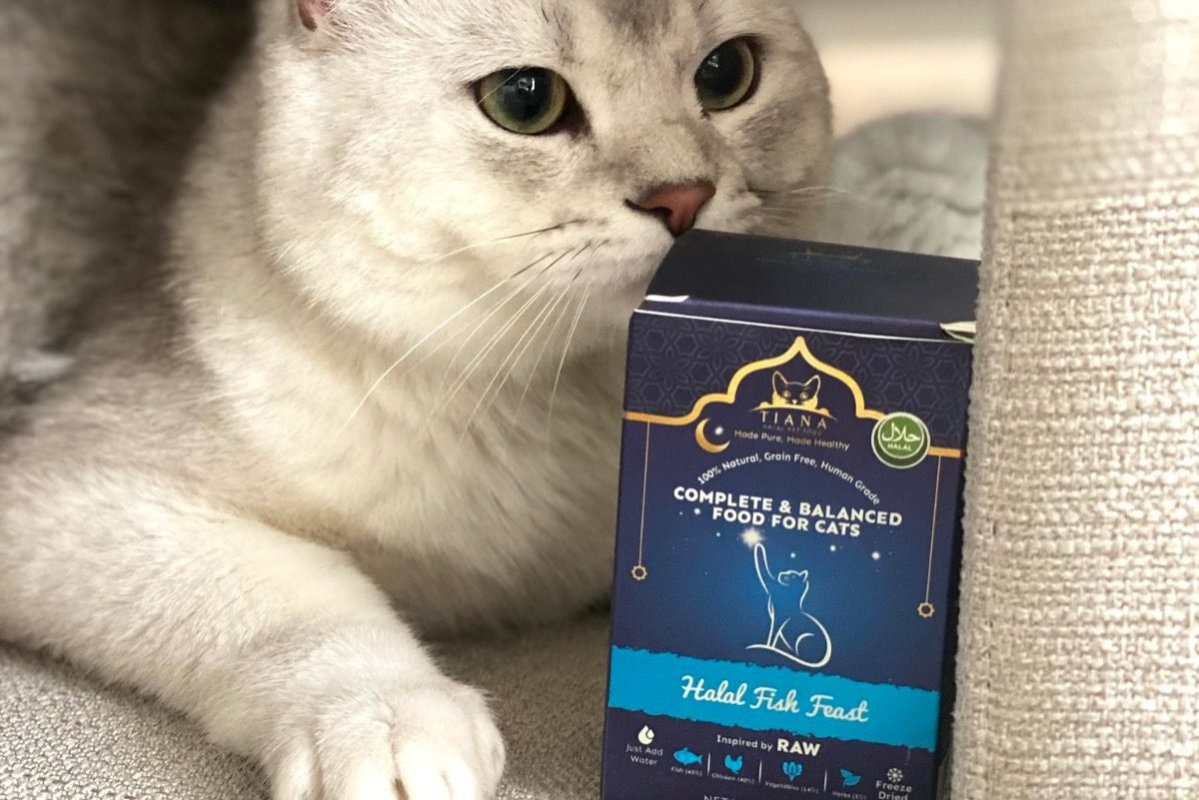 UK's first halal cat food [tianacatclub/Twitter]