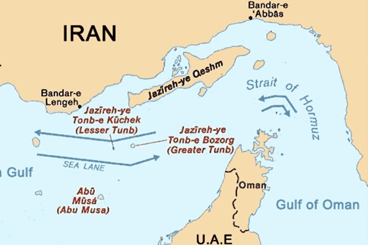 Tunb Al-Kubra, Tunb Al-Sughra, and Abu Musa [Wikipedia]