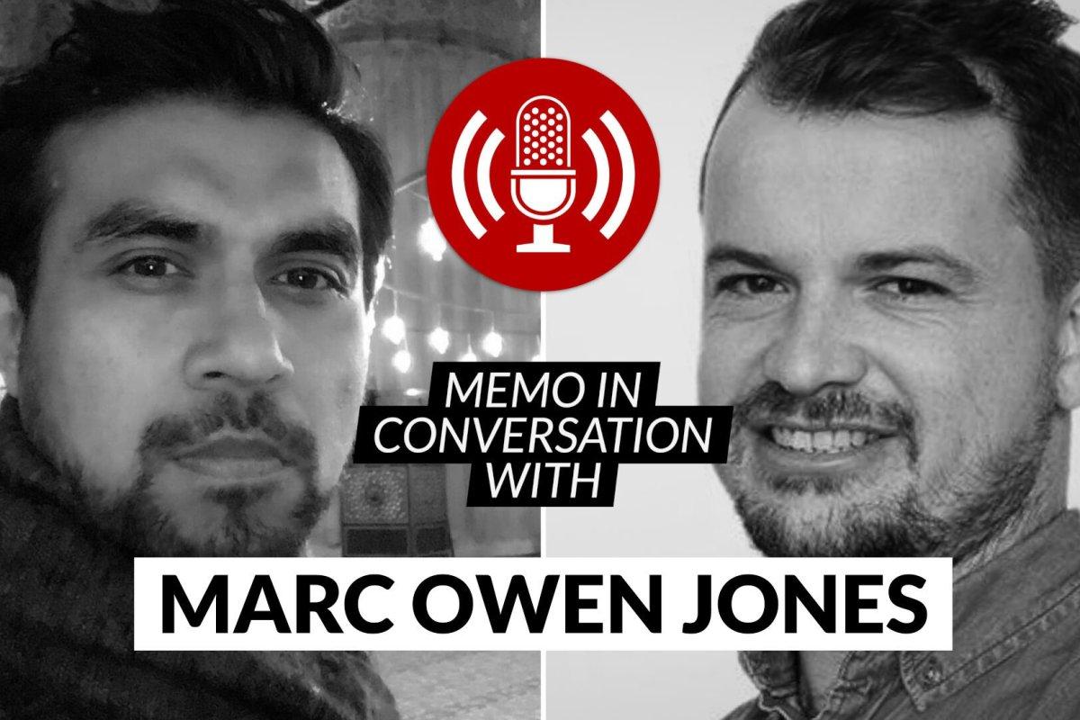 MEMO in conversation with: Marc Owen Jones
