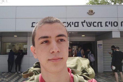 Eran, a 19-year-old Israeli refuser who was taunted in prison as an 'Arab Lover' for his opposition to the occupation of Palestine [Refuser Network]