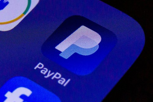 A smartphone screen is seen with the App Paypal on 11 May 2020 [Mario Hommes/DeFodi Images/Getty Images]