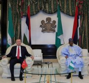 Nigeria welcomes Turkey president with official ceremony