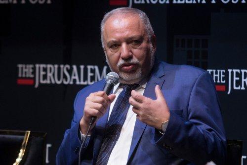 Israeli Finance Minister Avigdor Liberman in Jerusalem 12 October 2021 [Amir Levy/Getty Images]