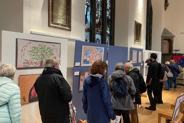 Festival of Palestine, on 9 October 2021 in Edinburgh, Scotland [provided by Palestinian History Tapestry]