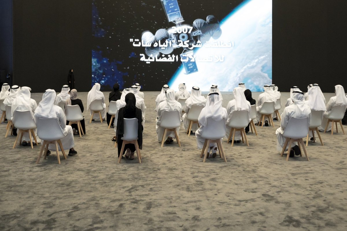UAE launched a new project to explore the planet Venus and the asteroid belt [@MohamedBinZayed/Twitter]