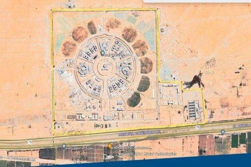 Egypt's new prison in Wadi Natroun [WeRecordAR/Twitter]