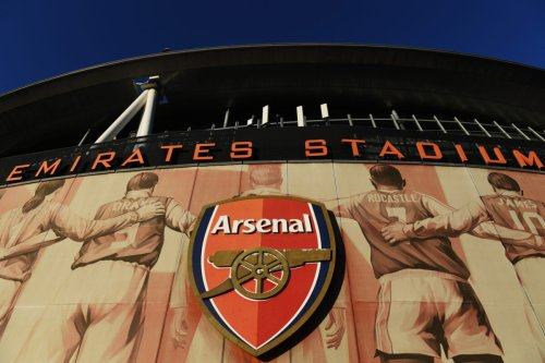 General view outside the English Premier League club Arsenal's Emirates Stadium on October 01, 2021 in London, England. [Alex Burstow/Getty Images]