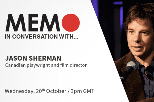 MEMO in conversation with: Jason Sherman