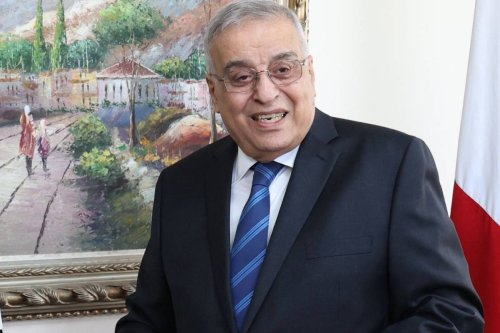 Lebanon's Foreign Minister, Abdallah Bou Habib on 14 October 2021 [ANWAR AMRO/AFP via Getty Images]
