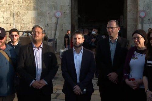 thumbnail - Far-right Israeli MKs tour Jerusalem's Arab quarters