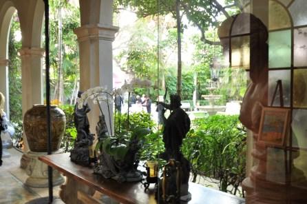 Mansion Garden Entrance