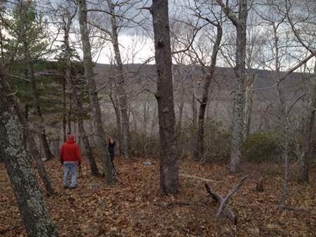 Thanks to Jim McHutchison and the Stewards who braved a walkabout on Middlesex Land Trust's most recent acquisition, the Brainerd Quarry Preserve.  What a beautiful piece of property, 50 acres overlooking the Connecticut River, check out some of these views.