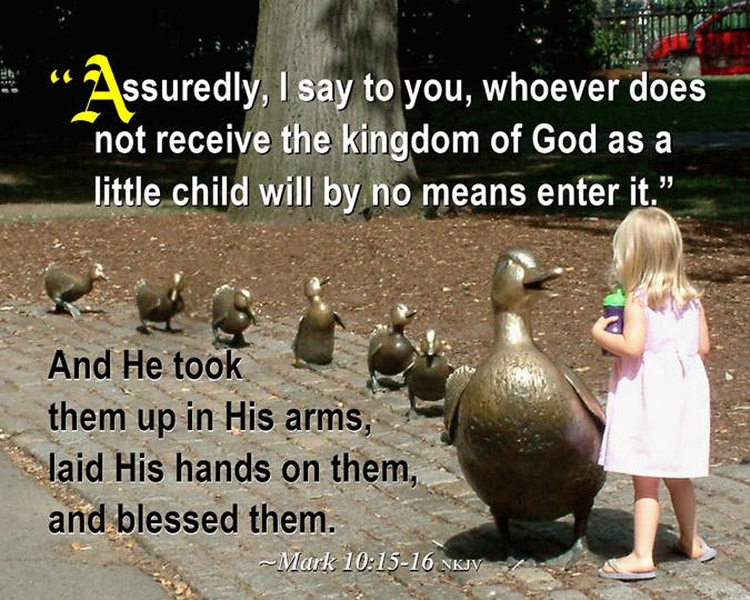 Kuvahaun tulos haulle Mark 10:15