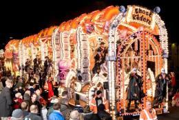 Somerset Carnival Float in Glastonbury