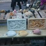 ceramics glastonbury frost fayre