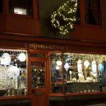 Christmas on glastonbury high street