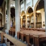 shining branches at st johns church glastonbury