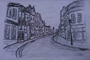 walking glastonbury high street
