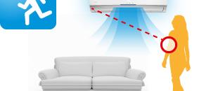Built-in infrared Sensor