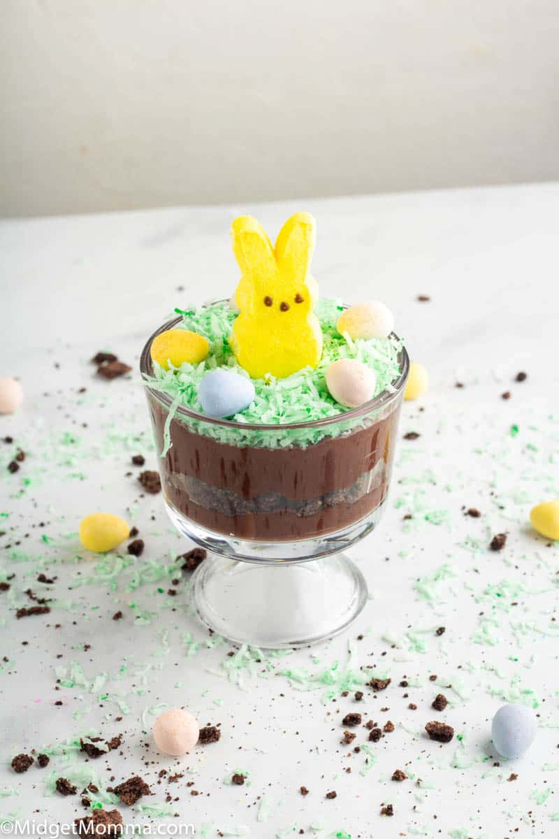 Easter Bunny Dirt Cup Recipe