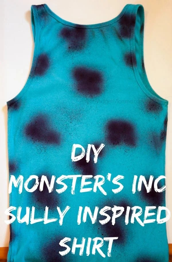 Diy Monsters Inc Sully Shirt Midgetmomma