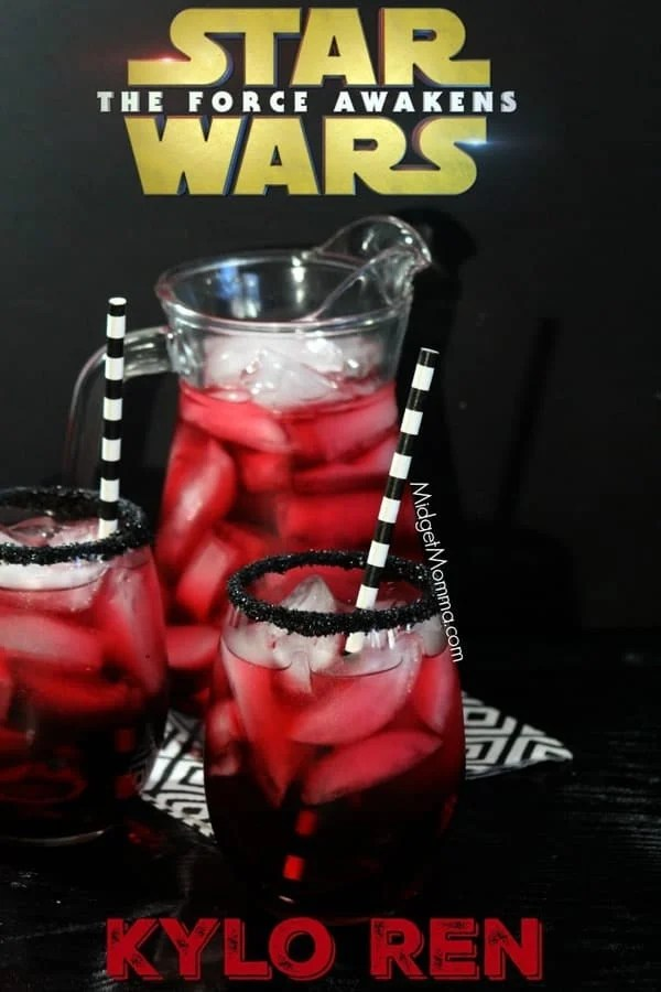 Star Wars Kylo Ren Party Drink For Kids Easy To Make