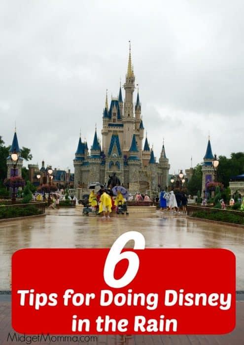 6 Tips For Doing Disney In The Rain MidgetMomma