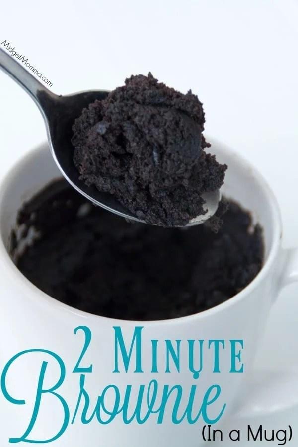 2 Minute Microwave Mug Brownie Midgetmomma