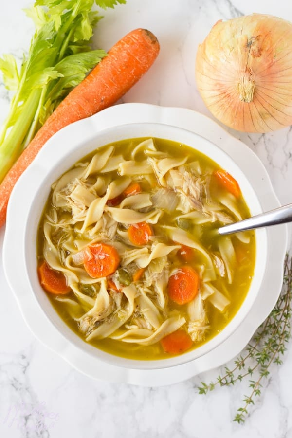 Homemade Chicken Noodle Soup Homemade Soup Recipe