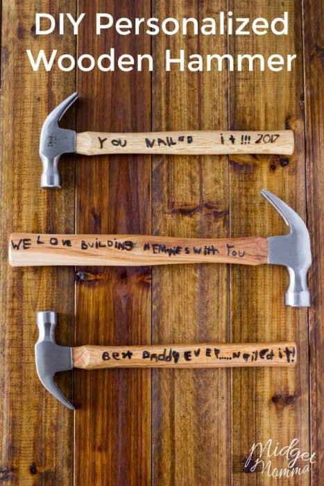 DIY Personalized Hammer