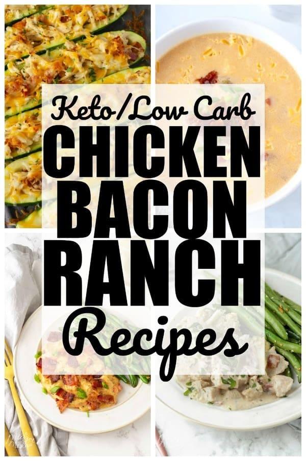 keto chicken bacon ranch recipes