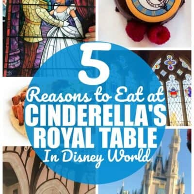 Cinderella's Royal Table Reservations