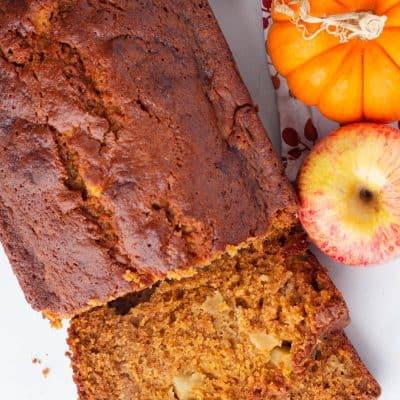 pumpkin apple bread Recipe