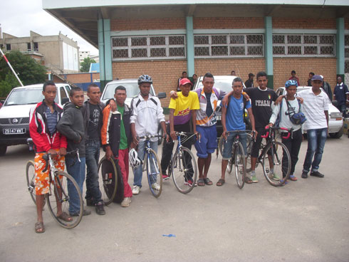 Tour de Mada cycliste : Antsirabe vous salue bien !