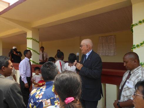 EPP Ambohitrarahaba: L'établissement doté d'un réfectoire pour la cantine scolaire