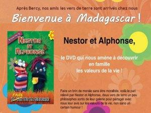 Le DVD Nestor et Alphonse est disponible à Madagascar.