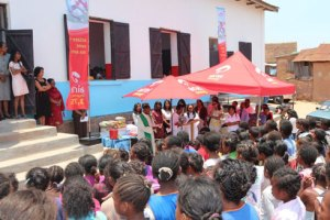 Airtel a contribué au bonheur des élèves de l'EPP Ilanivato.