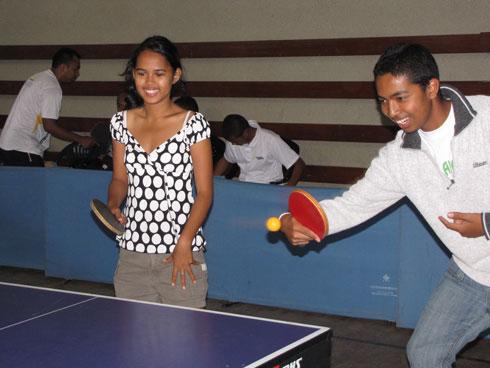 Tennis de table: La crème des pongistes au rendez-vous
